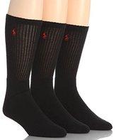 Polo Ralph Lauren Crew Sport Socks 3-Pack
