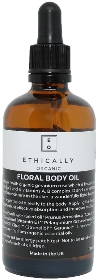 Ethically Organic Floral Body Oil