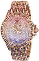 Juicy Couture Women's 1901167 Stella Analog Display Quartz Multi-Color Watch