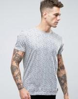 Bellfield Abstract Printed T-Shirt