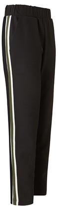 Baukjen Georgie Pant In Black With Soft White & Khaki