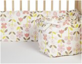 DwellStudio Crib Bumper - Rosette Blossom