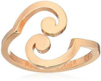 Alex and Ani 'A Wrinkle in Time' 14k Rose Gold Plated Spiral Ring Wrap Size Adjustable