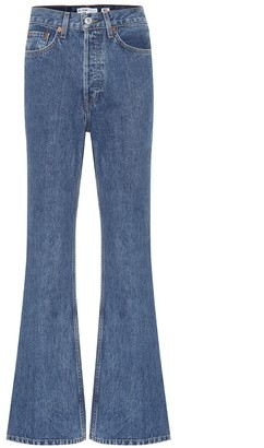 RE/DONE '70s Utlra High-Rise Flared Jeans