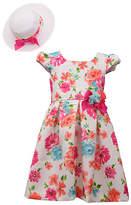 Bonnie Jean Little Kid / Big Kid Girls Sleeveless Dress Set, 4 , Pink