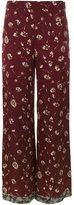 Etro floral print palazzo pants - women - Viscose - 42