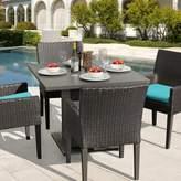 Tegan Sol 72 Outdoor 5 Piece Dining Set with Cushions Sol 72 Outdoor Cushion Color: Aruba