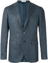 Boglioli check pattern blazer - men - Silk/Linen/Flax/Acetate/Virgin Wool - 48
