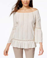 Style&Co. Style & Co Style & Co Petite Off-The-Shoulder Top, Created for Macy's