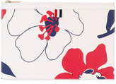 Thom Browne floral print clutch - women - Cotton/Leather - One Size