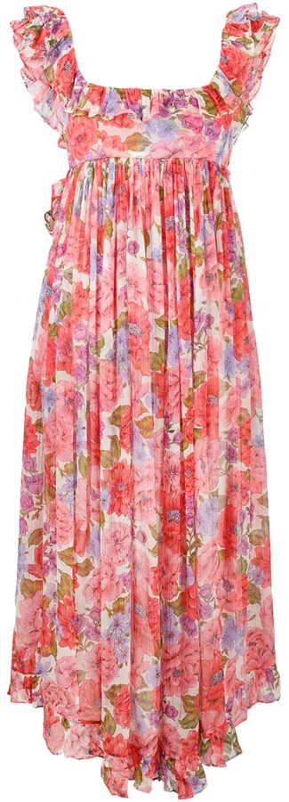 Zimmermann Floral-Print Sleeveless Maxi Dress
