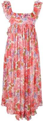 Zimmermann Floral-Print Sleeveless Maxi Dress