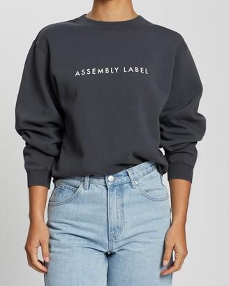 Assembly Label Logo Fleece