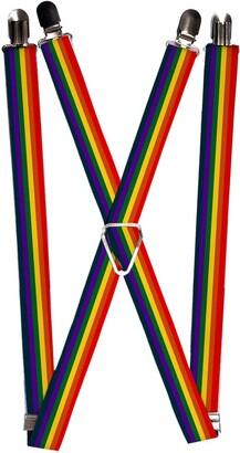 Buckle Down Buckle-Down Men's Suspender-Rainbow