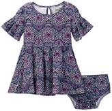 Lucky Brand Bell Sleeve Peasant Dress (Toddler Girls)