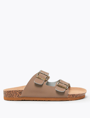 Marks and Spencer Leather Footbed Sandals