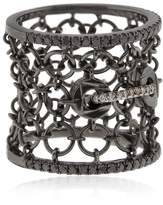 Colette Jewelry Entwined Mesh Corset Ring For Lvr