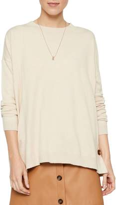 Vero Moda Karis Crewneck Button Blouse