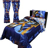 Disney 8pc Star Wars Twin Bedroom Set Rebels Fight Comforter Sheets and Window Panels with Tie-Backs