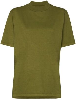 LES TIEN high-neck T-shirt