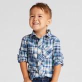 Genuine Kids from OshKosh Toddler Boys' Long Sleeve Button Down Shirt Genuine Kids from OshKosh® - Athens Blue