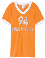 PINK University Of Tennessee Bling V-Neck Ringer Tee