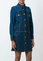 See by Chloe Denim Dress Washed Indigo