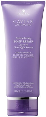 ALTERNA Haircare CAVIAR Anti-Aging Restructuring Bond Repair Leave-In Overnight Serum