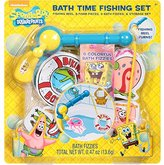 Nickelodeon Spongebob Squarepants Bath Time Fishing Set, 18 Pc