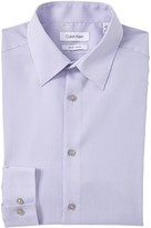 Calvin Klein Checker Slim Fit Dress Shirt