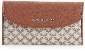 Dana Buchman Women's Rounded Flap Wallet