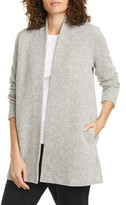 Eileen Fisher Open Front Organic Cotton Cardigan