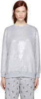 Ashish SSENSE Exclusive Silver Sequin Sweatshirt