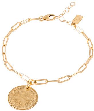 Electric Picks Jewelry Havana Coin Bracelet