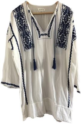 Etoile Isabel Marant White Cotton Dresses