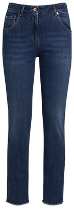 Brunello Cucinelli Stretch-Cotton Denim Jeans