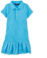 Ralph Lauren Eyelet Polo Dress