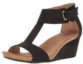 Adrienne Vittadini Womens Trellis Open Toe Casual Wedged Sandals.