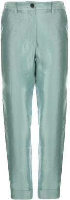 Ann Demeulemeester High Rise Tapered Trousers