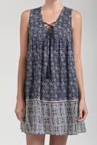 Blu Pepper Border Print Dress