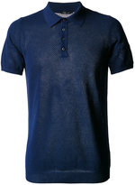 Roberto Collina net polo shirt