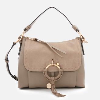 See by Chloe Women's Small Joan Shoulder Bag - Motty Grey