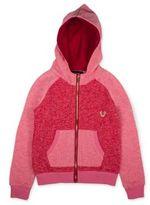 True Religion Toddler's, Little Girl's & Girl's Heathered Long Sleeve Hoodie
