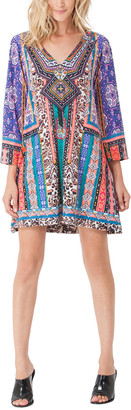 Hale Bob V Neck Printed Dress