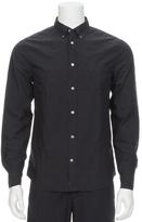 Acne Studios Jefferey Poplin Button Down Shirt