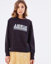 Amuse Society Amuse Fleece Sweater