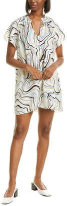 Chinti and Parker Marble Shift Dress