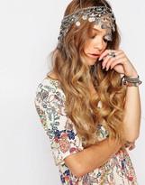 Glamorous Festival Multi Coin Headband