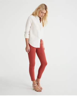 AG Jeans The Legging Ankle - Sulfur Mahogany Red