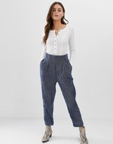 Free People See You Again smocked trousers